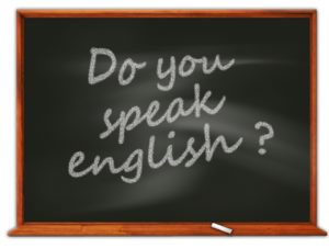 "Ardoise ""Do you speak english?"""
