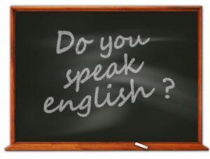 """Ardoise """"Do you speak english?"""""""