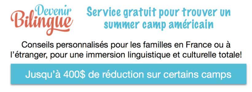 Jusqu'à 400€ de réduction sur des summer camps