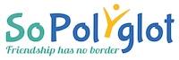 Logo SoPolyglot - Friendship has no border