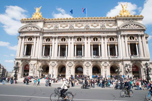 Apprendre l'anglais aux enfants en visitant Paris (photo Opéra Garnier)