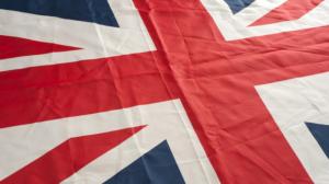 Internat en Angleterre - le drapeau du UK