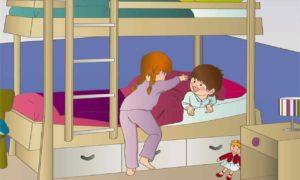 Dessin d'un ouvrage Anglais bébé de Génération Bilingue