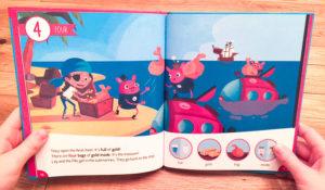 Photo du livre sur les pirates
