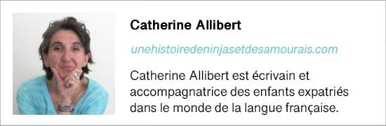 Présentation de l'auteur Catherine Allibert
