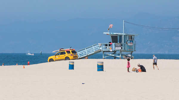 Plage en Californie