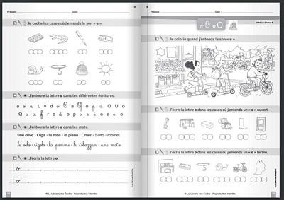 Extrait manuel de lecture écriture - Librairie des écoles