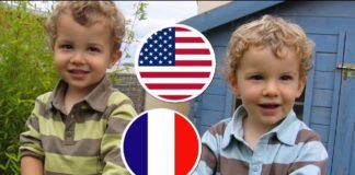 2 enfants bilingues heureux !