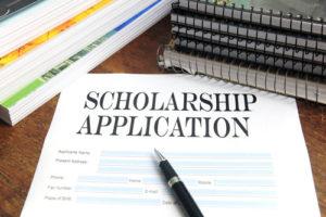 Document Scholarship Application pour une bourse aux USA