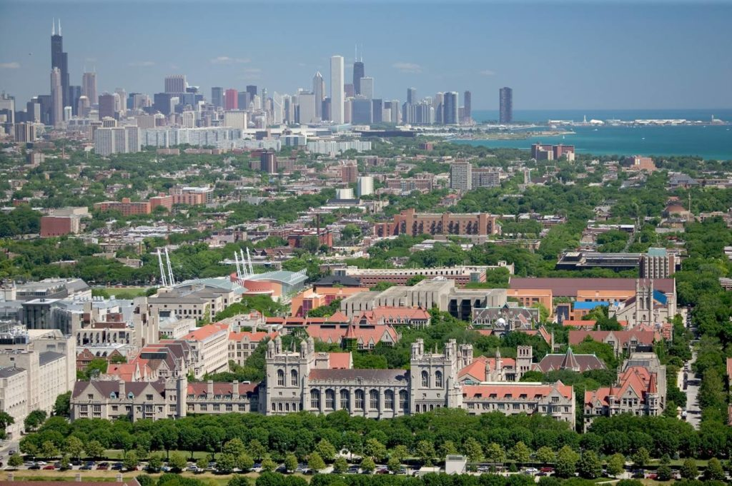 Campus de l'université de Chicago