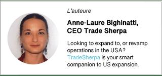 Auteur Anne-Lise Bighinatti, CEO TradeSherpa