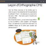 Blog Bout de gomme Leçon d'orthographe CE2