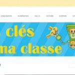 Blog Les clés de ma classe Page d'accueil