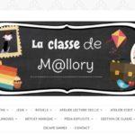 Blog La classe de Mallory Page d'accueil