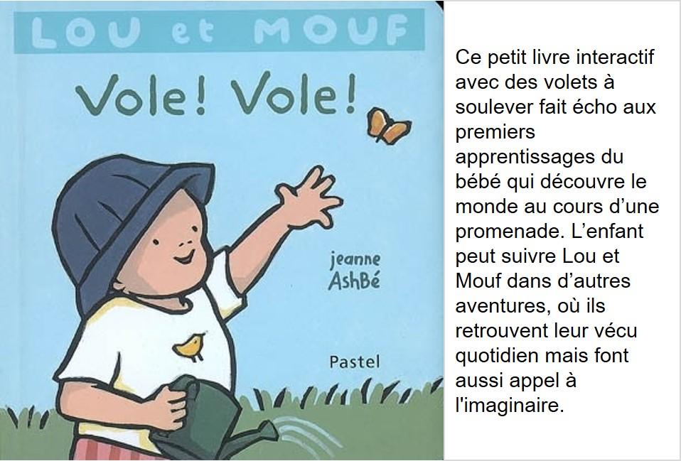 1- Vole ! Vole ! (Jeanne Ashbé)