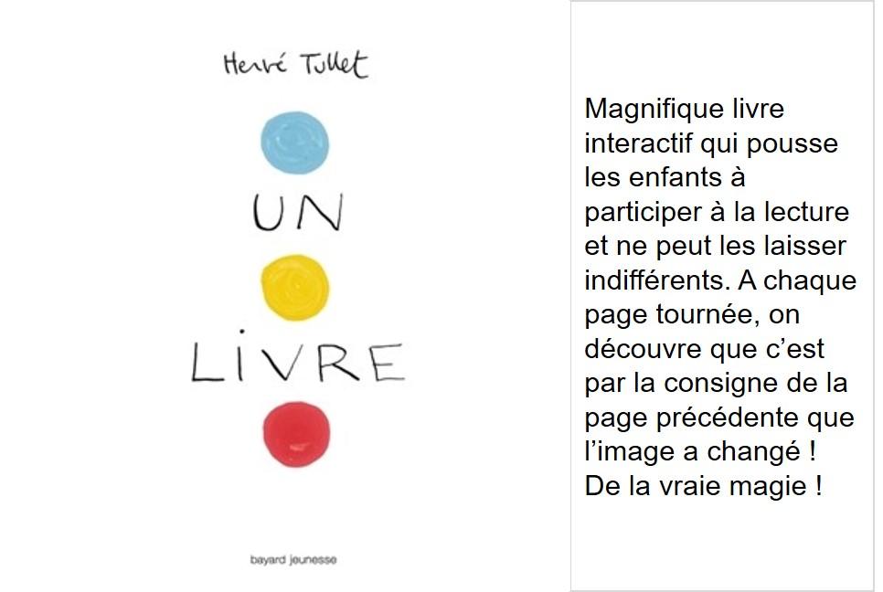 Un livre (Hervé Tullet)