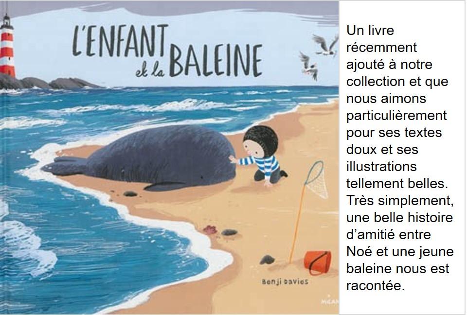 L'enfant et la baleine (Benji Davis)