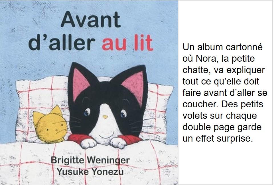Avant d'aller au lit (Brigitte Weninger, illustrations Yusuke Yonezu)