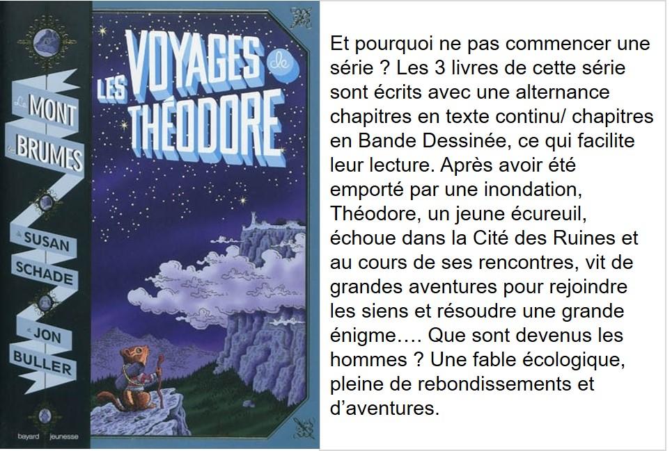 Les voyages de Théodore T1 (série Le Mont des brumes - Susan Shade et Jon Buller)