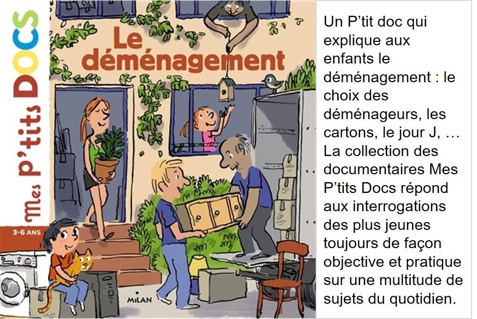 Le déménagement (texte de Stéphanie Ledu & illustrations de Robin)