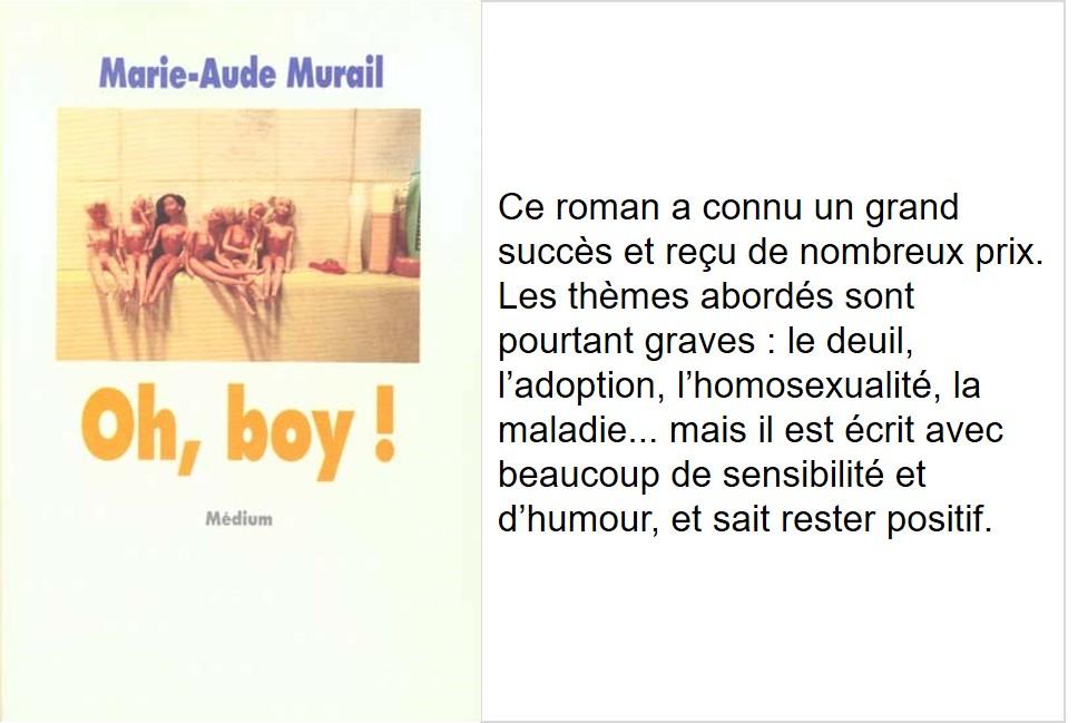 Oh Boy (Marie-Aude Murail)