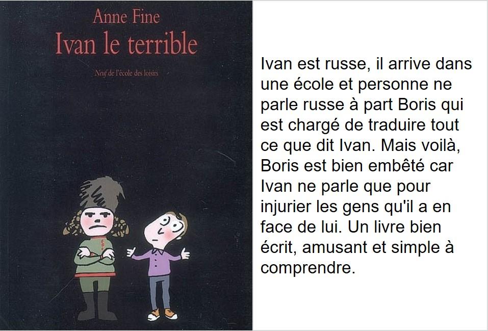 Ivan le Terrible (Anne Fine)