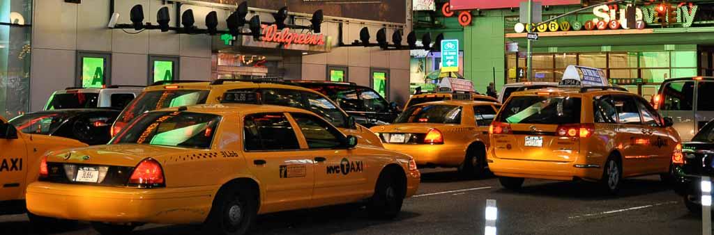 Séjour USA - Taxis new-yorkais