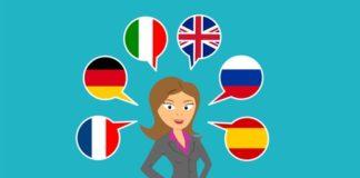 Femme multilingue - échanges de converssation en langue étrangère