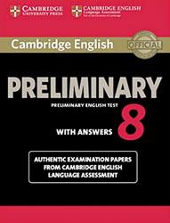 Livre pour se préparer au Cambridge English Preliminary (PET)
