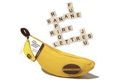 Le jeu Banagrams pour pratiquer le français en s'amusant