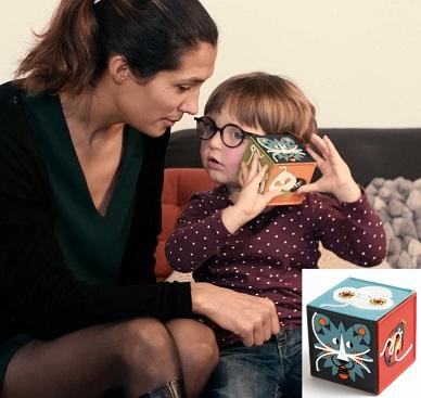 La conteuse merveilleuse permet aux enfants d'écouter des histoires sans écran