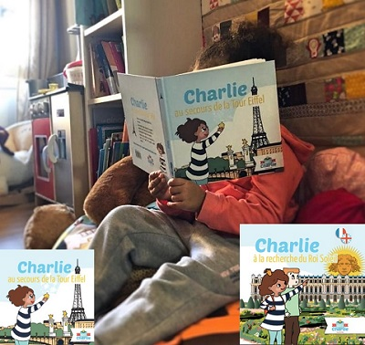 Les livres de Charlie : Au secours de tour Eiffel, A la recherche du roi soleil