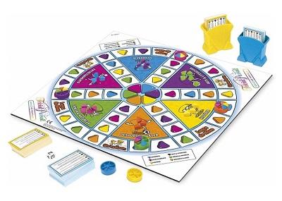 Plateau du jeu Trivial Pursuit Famille