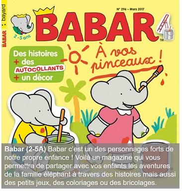 Barbar un magazine pour les 2-5 ans