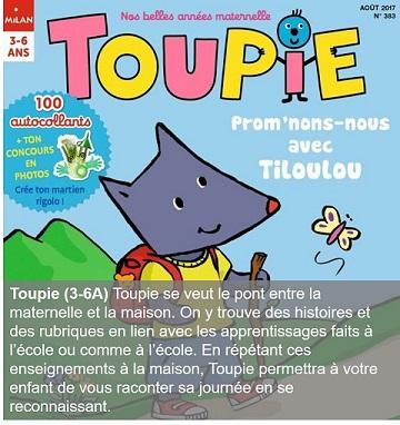 Toupie, un magazine pour les 3-6 ans
