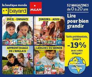 52 magazines Bayard Milan pour lire et bien grandir