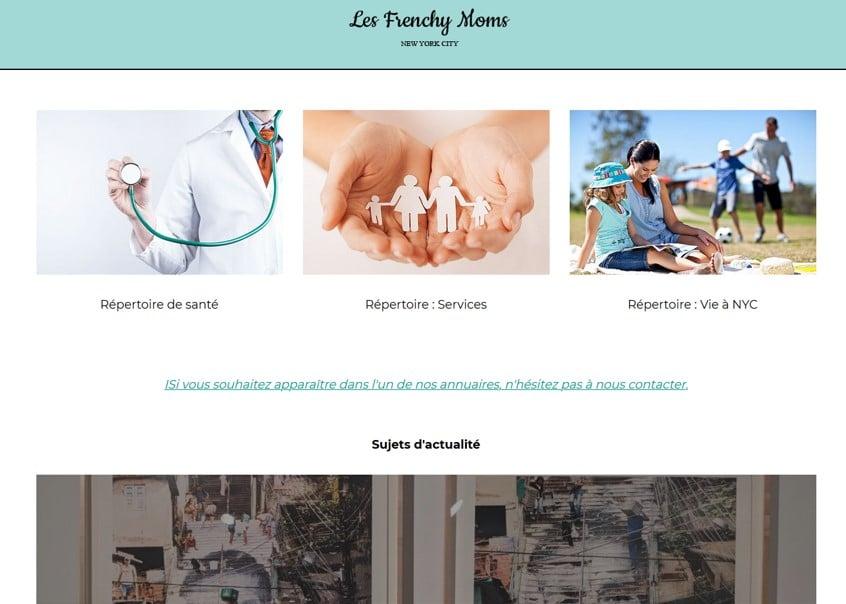 Les annuaires du site Les Frenchy Moms