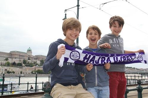 Les enfants de Laila scolarisés au lycée français de Budapest