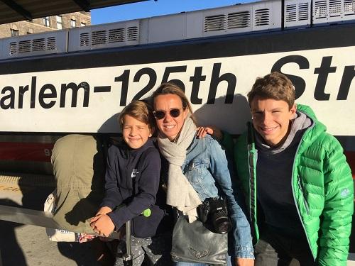 Les enfants de Laila scolarisés à l'école franco-américaine de New York
