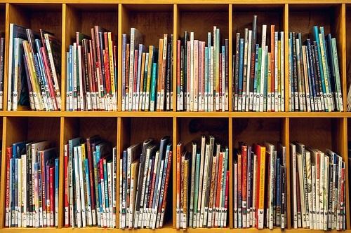 Bibliothèque à l'école