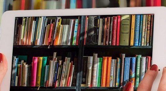 Livres d'une bibliothèque numérique