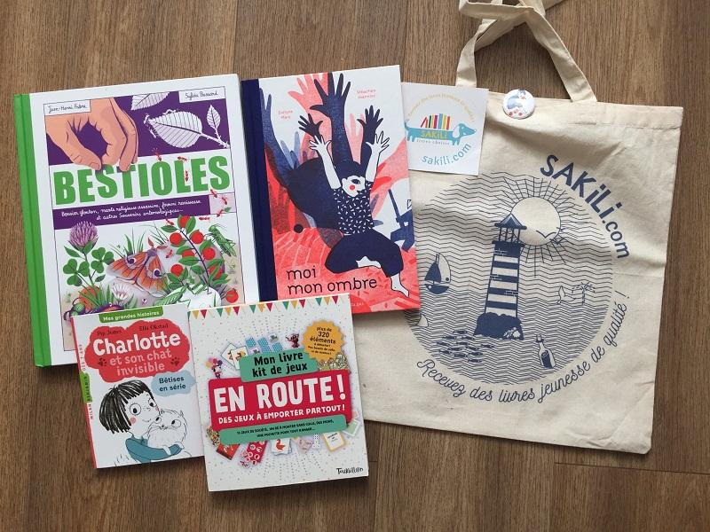 Le sac et les livres de Sakili