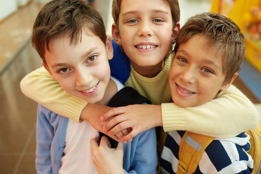 3 copains d'école