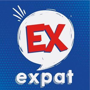 Logo Ex-expat le podcast
