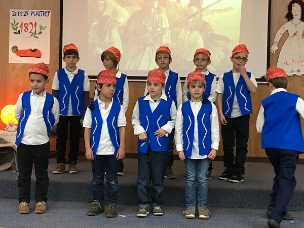 Chorale enfantine en langue grecque
