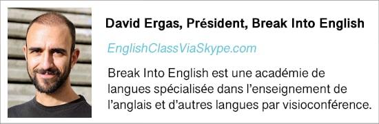 Présentation de l'auteur David Ergas