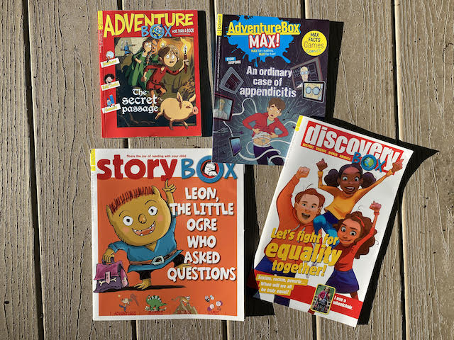 Les 4 magazines de la gamme anglaise de Bayard Jeunesse