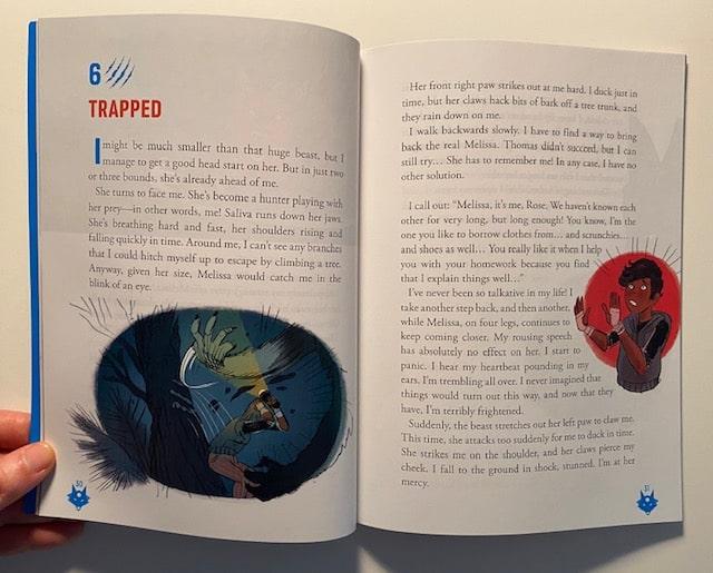 Une histoire en anglais dans le magazine Bayard Adventure Box
