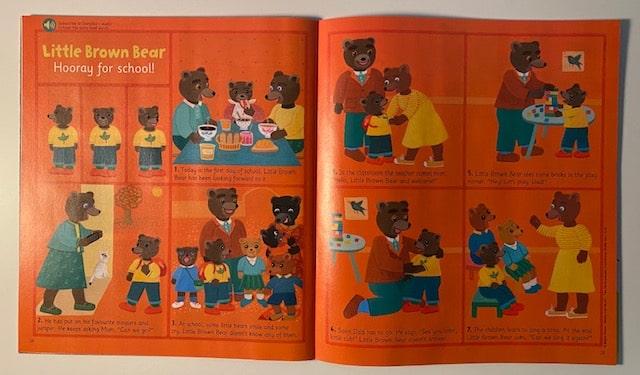 Petit ours brun en anglais