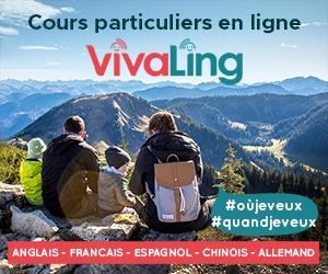 Cours particuliers en ligne VivaLing pour l'anglais, l'espagnol, le chinois, l'allemand et le français